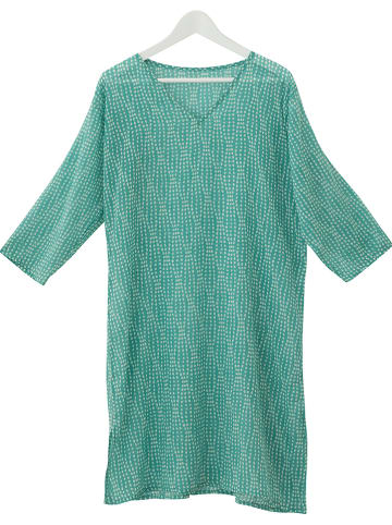 """Overbeck and Friends Tuniek """"Pippa"""" turquoise"""