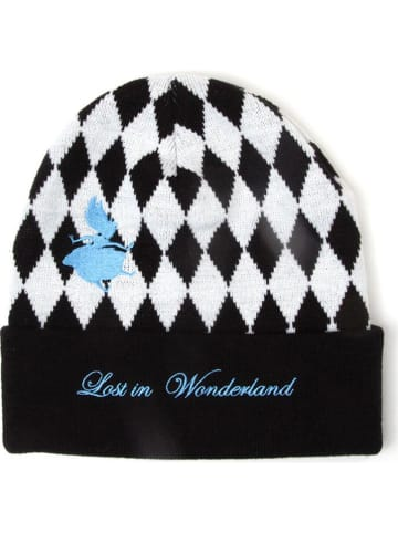 "Difuzed Mütze ""Alice In Wonderland"" in Schwarz/ Weiß"