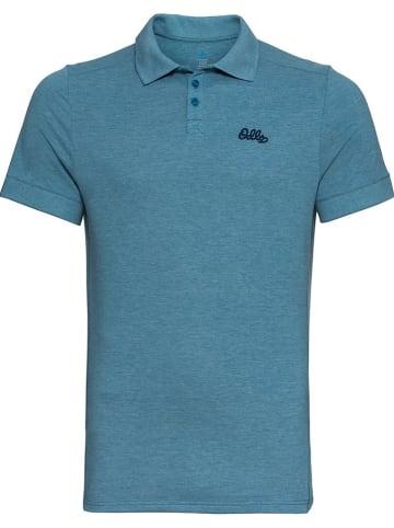 """Odlo Funkcyjna koszulka polo """"Nikko Dry"""" w kolorze niebieskim"""