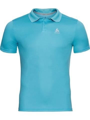 """Odlo Funkcyjna koszulka polo """"F-Dry"""" w kolorze niebieskim"""
