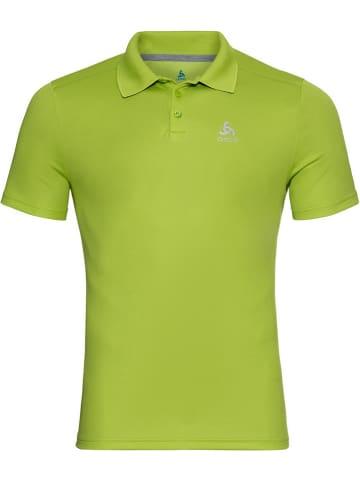 """Odlo Funkcyjna koszulka polo """"F-Dry"""" w kolorze zielonym"""