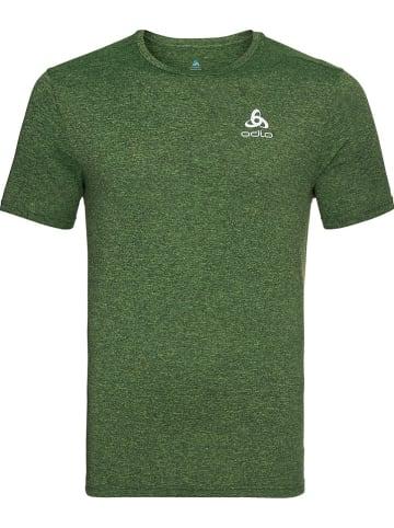 """Odlo Koszulka """"Easy"""" w kolorze zielonym do biegania"""