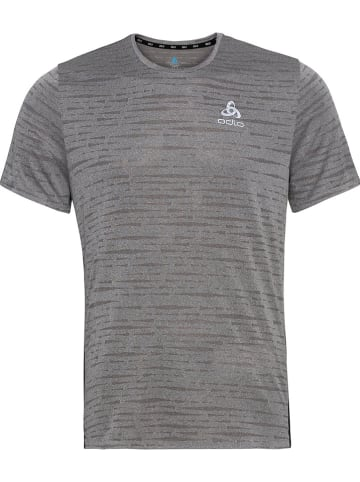 """Odlo Koszulka """"Zeroweight"""" w kolorze szarym do biegania"""