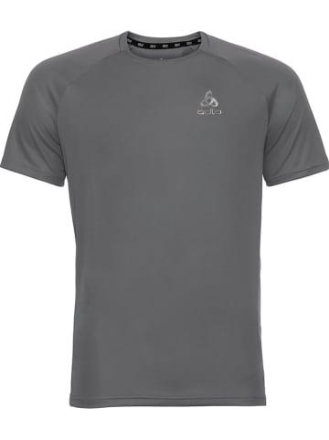 """Odlo Koszulka sportowa """"Essential"""" w kolorze szarym"""