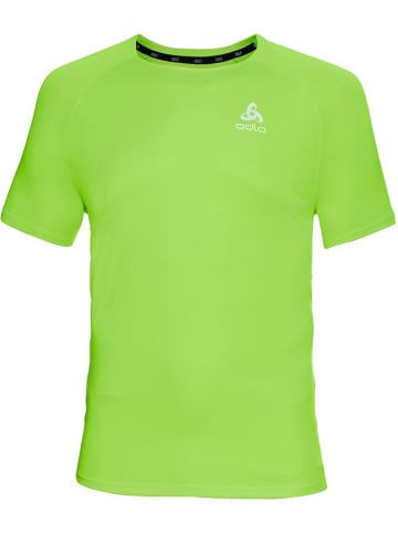 """Odlo Koszulka sportowa """"Essential"""" w kolorze zielonym"""