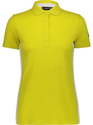 CMP Poloshirt geel