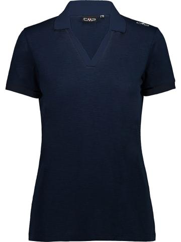 CMP Poloshirt donkerblauw