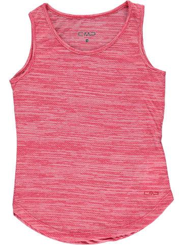 CMP Top funkcyjny w kolorze różowym