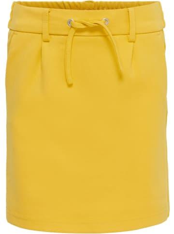 """KIDS ONLY Spódnica """"Poptrash"""" w kolorze żółtym"""