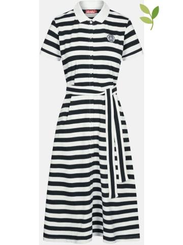 Derbe Sukienka w kolorze biało-czarnym