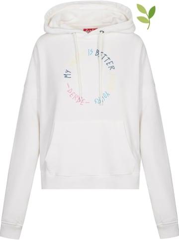 Derbe Sweatshirt in Weiß