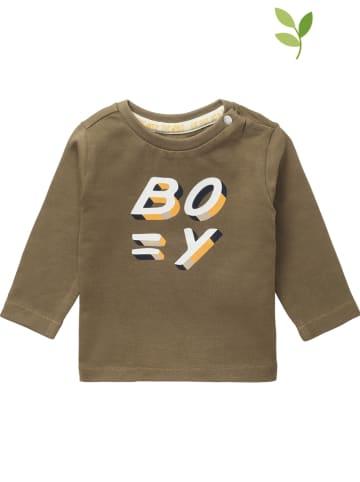 "Noppies Koszulka ""Tring"" w kolorze khaki"