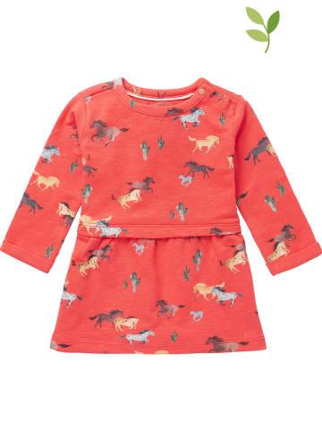 """Noppies Sukienka """"Mudau"""" w kolorze koralowym"""