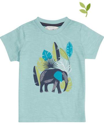 "Sense Organics Koszulka ""Ibon"" w kolorze turkusowym"