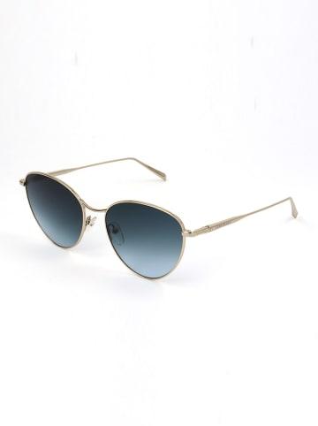Longchamp Damen-Sonnenbrille in Gold/ Blau