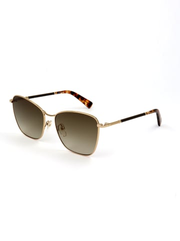 Longchamp Dameszonnebril goudkleurig/bruin