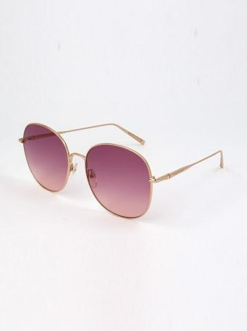 Longchamp Damen-Sonnenbrille in Gold/ Pink