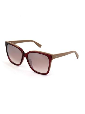 Furla Damen-Sonnenbrille in Rot-Beige/ Rosa