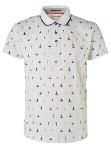 No Excess Koszulka polo w kolorze białym