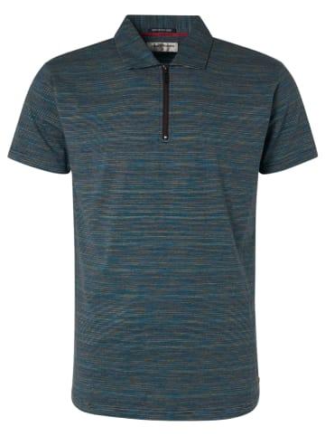 No Excess Poloshirt donkerblauw