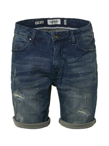 No Excess Jeansshorts - Regular fit - in Dunkelblau