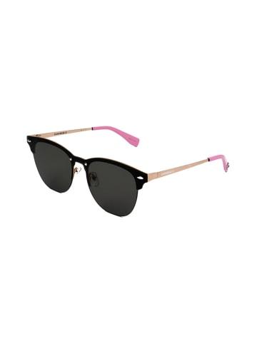 """Converse Okulary przeciwsłoneczne """"SCO283"""" w kolorze czarno-różowo-beżowym"""