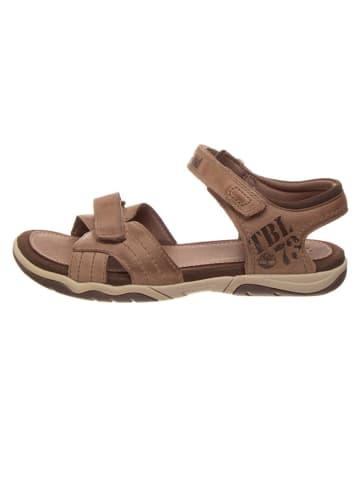 """Timberland Leren sandalen """"Oak Bluffs"""" bruin"""