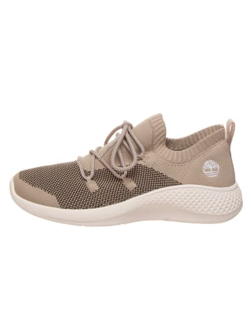 """Timberland Leren sneakers """"Flyfoam Oxford"""" taupe"""