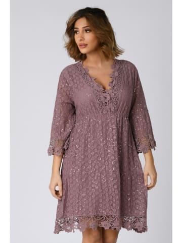 """Plus Size Company Sukienka """"Elise"""" w kolorze fioletowym"""