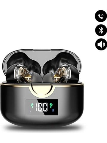 Evetane Bluetooth in-ear hoofdtelefoon zwart