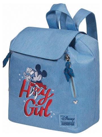 """American Tourister Plecak """"Modern Glow Disney"""" w kolorze błękitnym - 23,5 x 27,5 x 16 cm"""