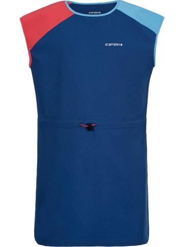 Icepeak Sukienka funkcyjna w kolorze niebieskim
