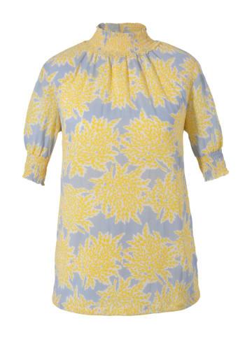 Aniston CASUAL Blouse geel/lichtblauw