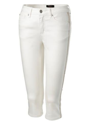 Aniston SELECTED Dżinsy w kolorze białym