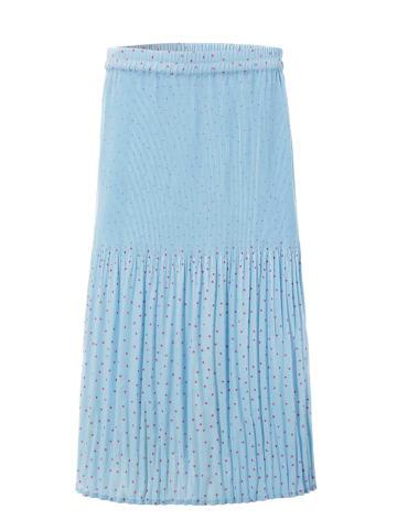 Aniston SELECTED Rok lichtblauw