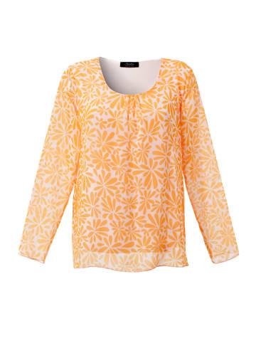 Aniston SELECTED Blouse oranje/lichtroze