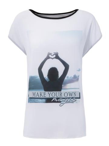 Aniston SELECTED Koszulka w kolorze białym