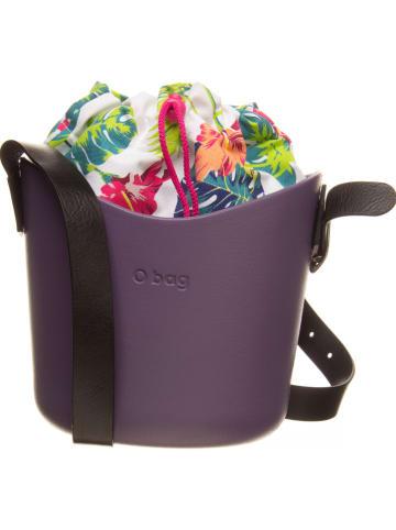 """O Bag Umhängetasche """"O Basket"""" in Lila/ Bunt - (B)25 x (H)20 x (T)15 cm"""