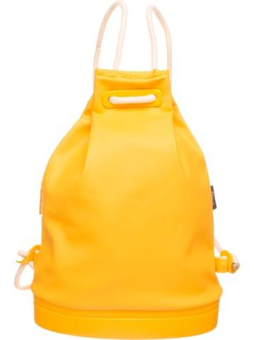 """O Bag Rugzak """"Soft 50"""" geel - (B)30 x (H)40 x (D)13 cm"""