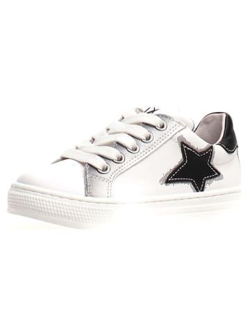 """Naturino Leren sneakers """"Kokie"""" wit"""