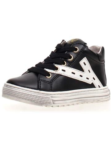 "Naturino Leren sneakers ""Snip"" zwart"