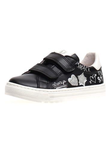 """Naturino Skórzane sneakersy """"Gala"""" w kolorze czarnym"""