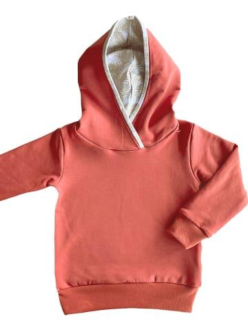 """LiVi Bluza """"Hoodie"""" w kolorze rdzawoczerwonym"""