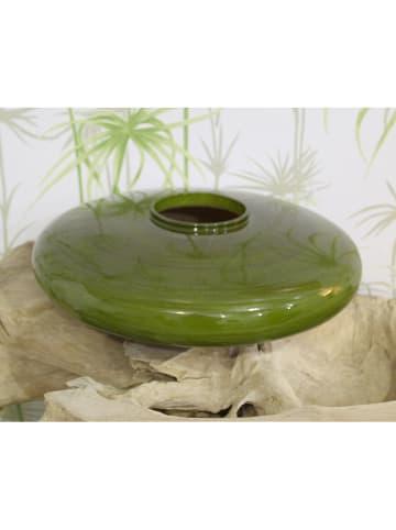 """Pirouette Wazon """"Campbell"""" w kolorze zielonym - wys. 11 x Ø 35 cm"""