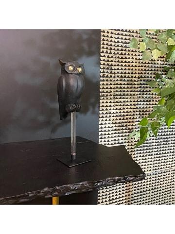 """Pirouette Decoratief figuur """"Owly"""" zwart - (B)12 x (H)41 x (D)10 cm"""