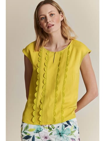 TATUUM Bluzka w kolorze żółtym