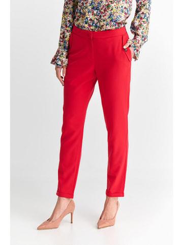 TATUUM Spodnie w kolorze czerwonym
