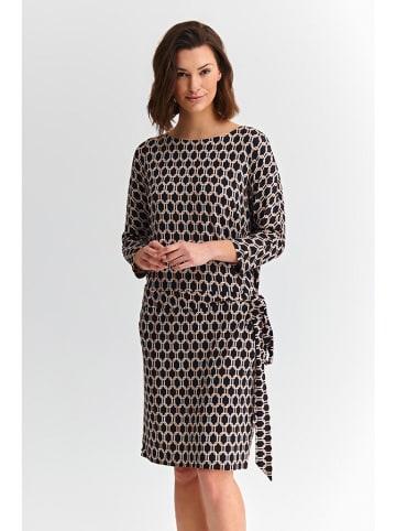 TATUUM Sukienka w kolorze czarnym ze wzorem