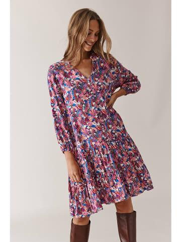 TATUUM Sukienka w kolorze różowym ze wzorem
