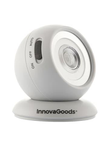 InnovaGoods LED-Lampe mit Bewegungsmelder in Weiß